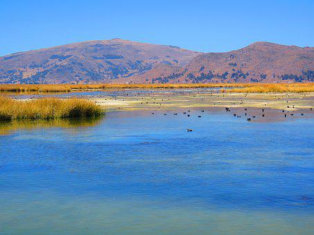 Landscape, Water, Peru, Lake Titicaca