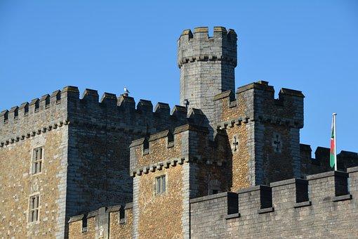Castle, Fort, Landmark, Architecture, Old, Building