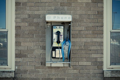 Pay Phone, Telephone Booth, Booth, Telephone, Phone