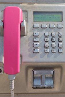 Phone, Phone Booth, Handsfree, Münzfreisprecher, Old