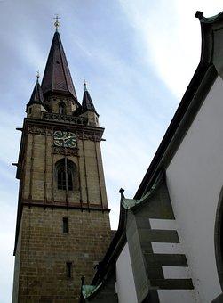 Building, Church, Catholic, Münster, Radolfzell Münster