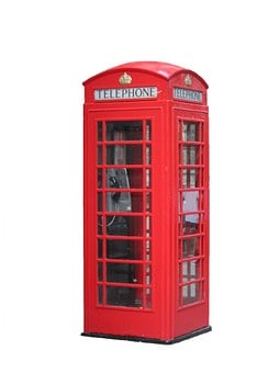 Telephone, Box, Public, Booth, Kiosk, Red, Call