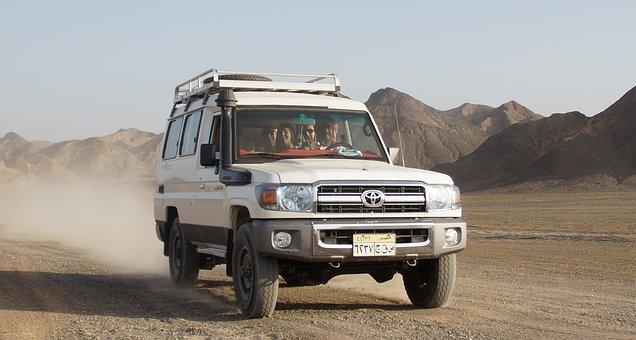 Desert, Jeep, Off-road Vehicle, Egypt, Adventure, Sand