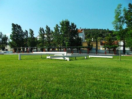 Park, Sculpture Almourol, New Nacelle Village