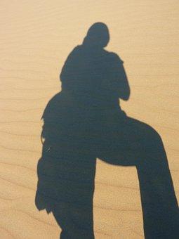 Dune, Desert, Dry, Hot, Sand, Shadow, Portät