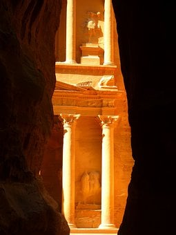 Khazne Firaun Al, Siq, Treasury, Temple, Jordan