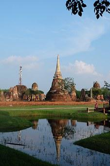 Thailand, The Ancient Capital, Dacheng, Reflection