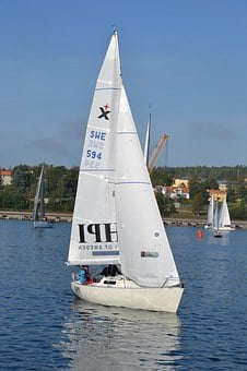 Sailboat, Sailing Race, Albin Express, Boat, Water