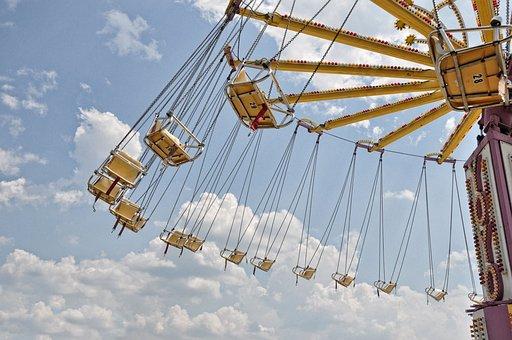 Fairs, Farris, Wheel, Amusement, Carnival