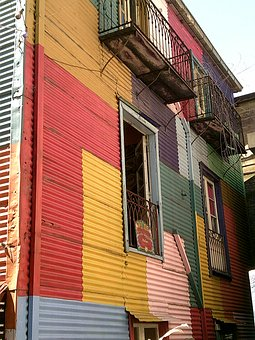 Buenos Aires, Boca, Cityscape, Architecture, Argentina