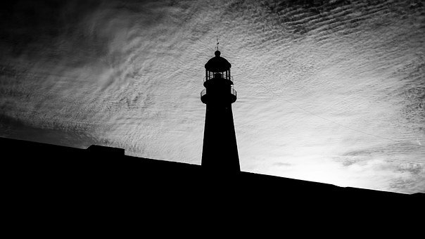 Lighthouse, Backlight, Mar Del Plata