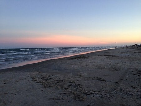 Beach, Texas Coast, Seashore, Peaceful, Mustang Island
