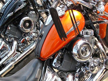 Motorbike, Engine, Fuel Tank, Bike, Vehicle, Close-up