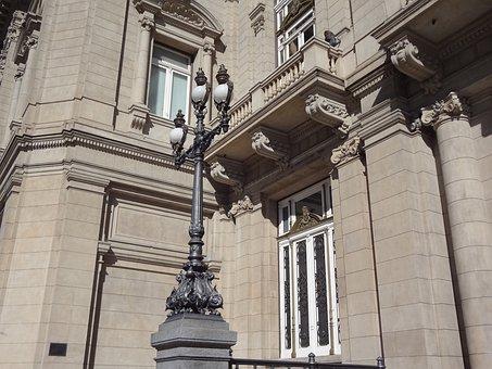 Colon Theater, Buenos Aires, Side Facade