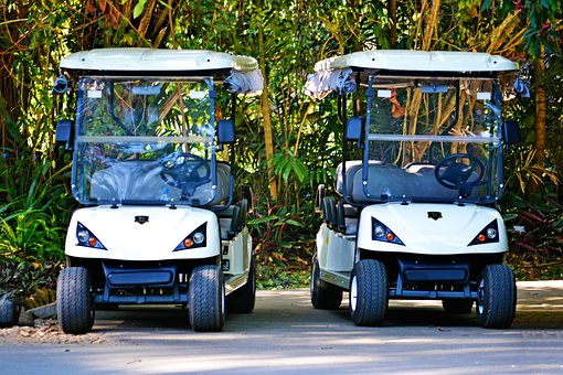 Golf Caddies, Cars, Garden Cars