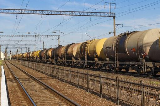 Tank, Benzotsisterna, Train, Railway, Cars, Tanks