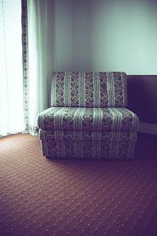 Hotel, Chair, Retro, Vintgae, Old, Venerable