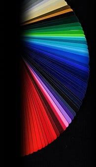 Color Fan, Colorful, Color Picker, Fanned Out, Wheel