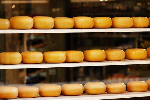 Cheese, Cheesy, Circle, Circular, Dairy, Dutch, Eat