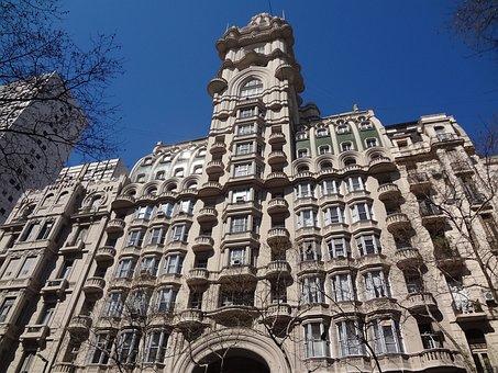 Facade, Buenos Aires, Avenue De Mayo