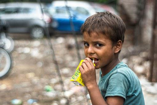 Slum Boy, Face, Boy, Child, Kid