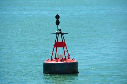 Buoy, Float, Water, Sea, Floating, Coastal, Marine