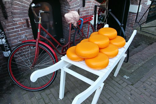 Cheese, Circle, Dairy, Dutch, Food, Holland, Large