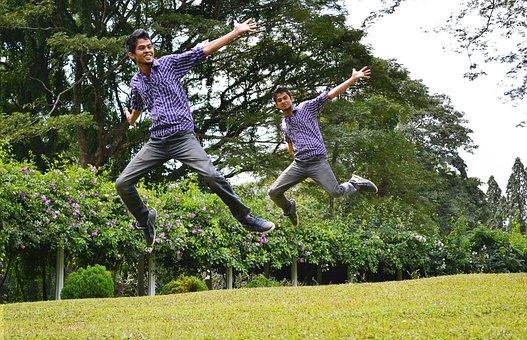 Joy, Jump, Multiplicity, Many, Redundant, Happy, Fun