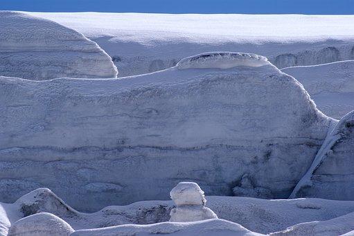 Ice Landscape, Ice, Glacier, Nature, Ice Floes