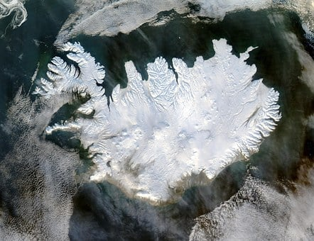 Iceland, Winter, Polar Cap, Eternal Ice, Glacier