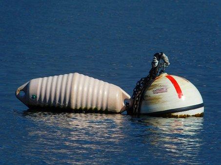 Floats, Boa, Float, Water, Lake, Reflection