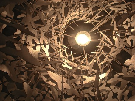 Lampshade, Lamp, Glow, Star
