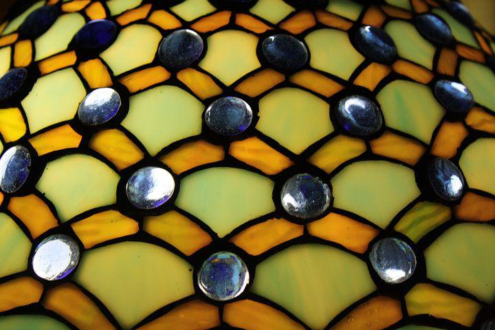 Lampshade, Tiffany, Colorful, Glass