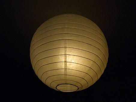 Light, Lamp, Lampshade, Lighting, Paper Lamp, Ball