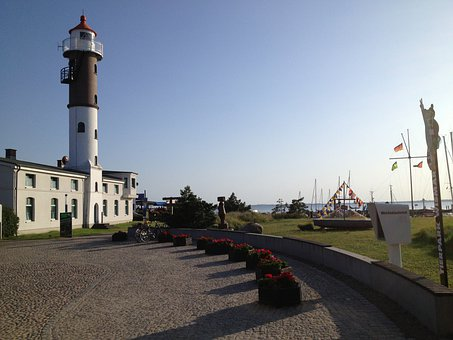 Lighthouse, Timmendorf, Baltic Sea, Evening