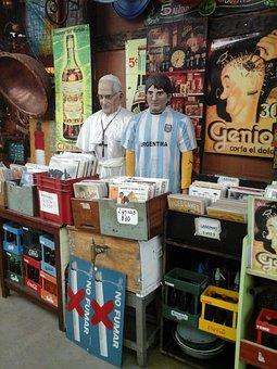 Flea Market, Buenos Aires, Argentina, Local, Market, Be