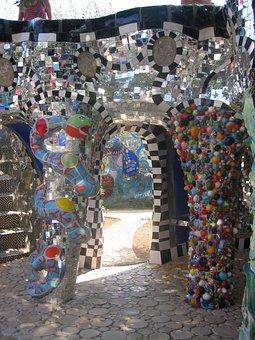 Building, Art, Modern Art, Garden Of Tarot