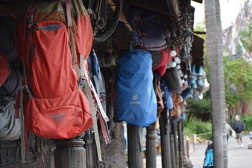 Everest, Bag, Backpack, Himalaya, Mountain, Nepal