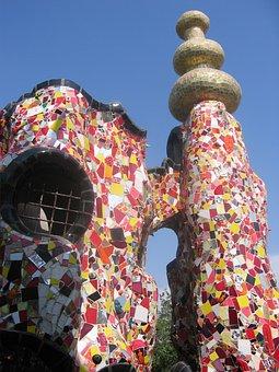Garden, Des, Tarot, Niki De Saint Phalle, Art, Ceramic