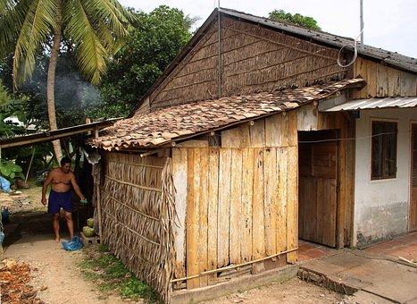 Slum, Hut, Poor, Tropical, Nature, Home, Cooking, Life