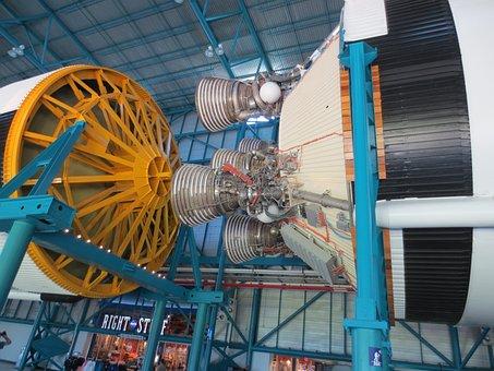 Saturn V Rocket, Saturn 5 Rocket, Saturn, Rocket, Space