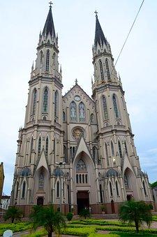 Church, St John Baptist Cathedral, Santa Cruz Do Sul