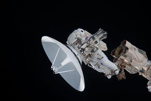 Antenna, Satellite Dish, Parabolic Mirrors, Received On