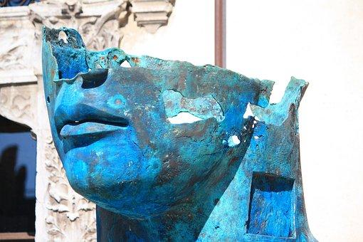 Verona, Castelvecchio Castle, Igor Mitoraj, Sculpture