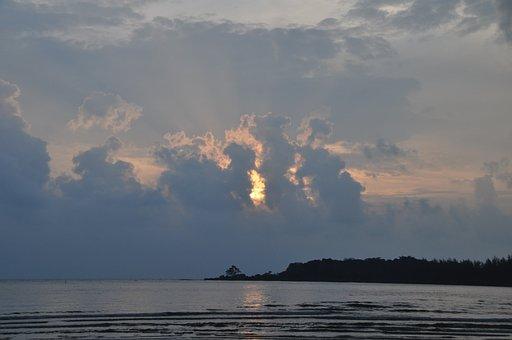 Nature, Sea, Sea Coast, Sunset, Marine Sunset, Clouds