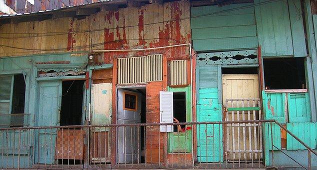 Street, Scene, Slum, City, Apartment, Colorful, Private