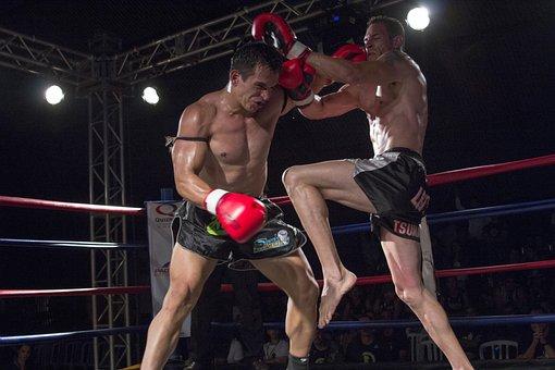 Sport, Action, Muay Thai, Fight, Athlete, Ring, Judge