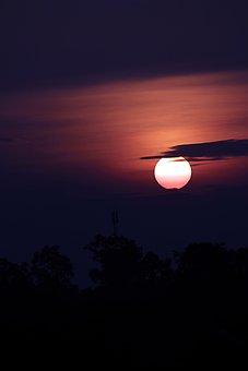 Sun, The Sun, Twilight, Sunset, Light Dontako