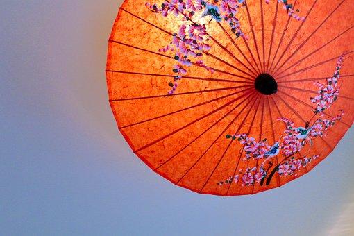 Thailand, Parasol, Japan, Bangasa, Tee, Paper Parasol