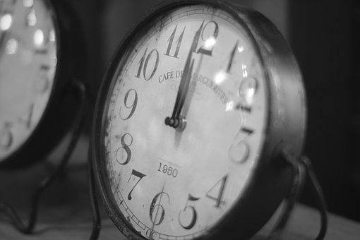 Clock, Vintage Clock, Time, Antique Clock, Retro Clock